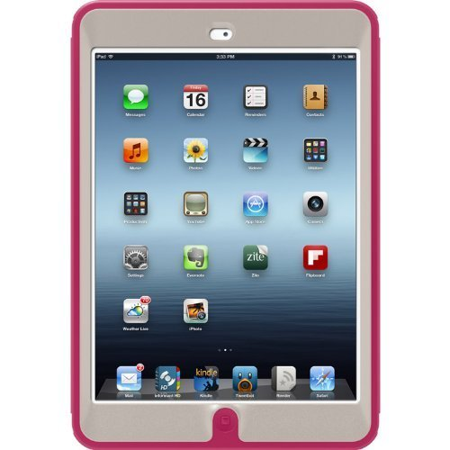 Otterbox Defender Series Case For Ipad Mini - Blushed - White/Pink