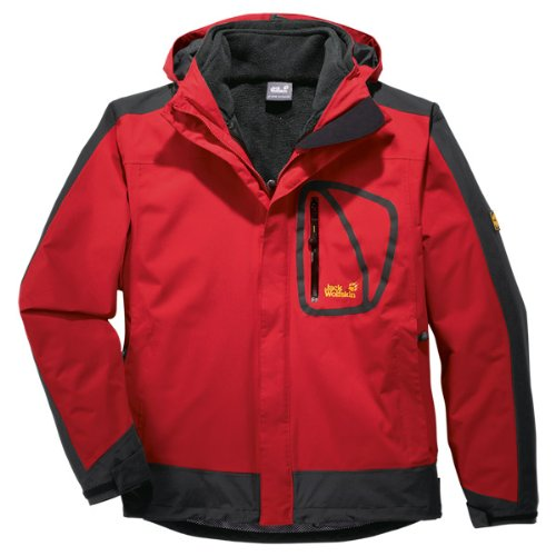 jack wolfskin herren 3 in1 jacke spectrum red fire xxxl. Black Bedroom Furniture Sets. Home Design Ideas