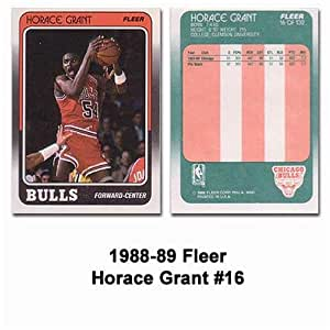 Fleer Chicago Bulls Horace Grant 1988 89 Rookie Card At