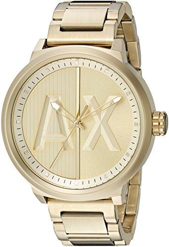 Armani-Exchange-Mens-AX1363-Analog-Display-Analog-Quartz-Gold-Watch
