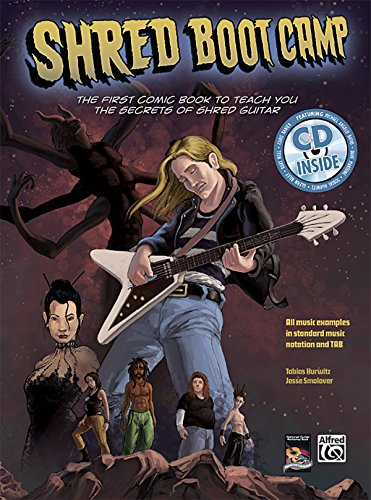 Shred Boot Camp: Book & CD