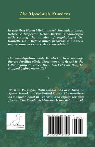 The Rosebush Murders: A Helen Mirkin novel: Volume 1