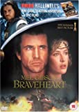 Braveheart DVD includes free Halliwells Guide to Action, Adventure and Epic FIlms