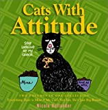 Cats with Attitude (0517219557) by Hollander, Nicole