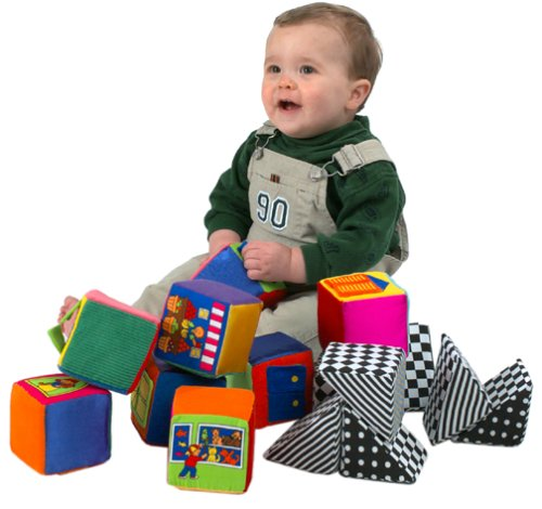 Small World Toys IQ Baby – Knock-Knock Blocks