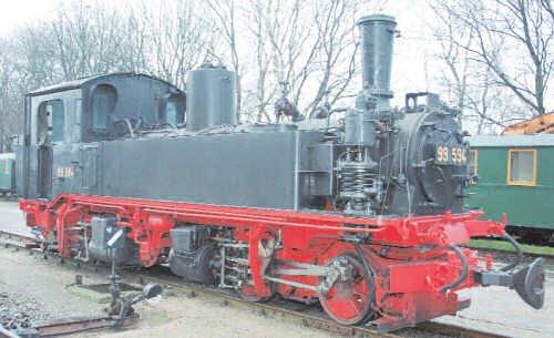 LGB Saxon Class IV K Locomotive G Scale