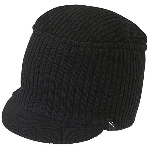 PUMA, Cappello Snyder lavorato a maglia, Nero (Black), Taglia unica