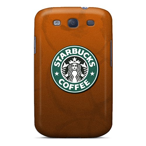 First-Class Case Cover For Galaxy S3 Dual Protection Cover Starbucks Coffee