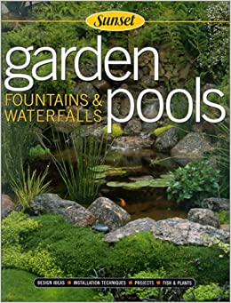sunset garden pools fountains waterfalls jeff beneke
