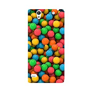 Phone Candy Designer Back Cover with direct 3D sublimation printing for Sony Xperia C4