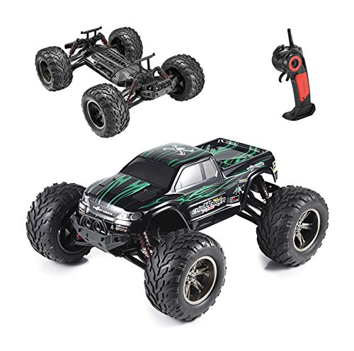 Hosim Remote Control Car S911, 1/12 2WD 33+MPH High Speed RC Off Road Truck, All Terrain Hobby Grade Vehicle ( Green )