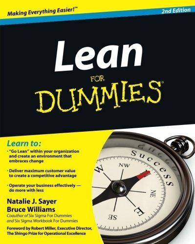Lean For Dummies PDF