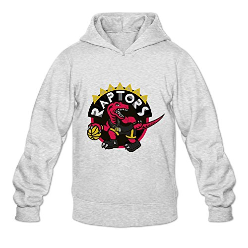 Toronto Raptors Hoodies For Men Long Sleeve S Ash