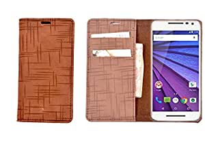 R&A Pu Leather Wallet Case Cover For HTC Desire Eye