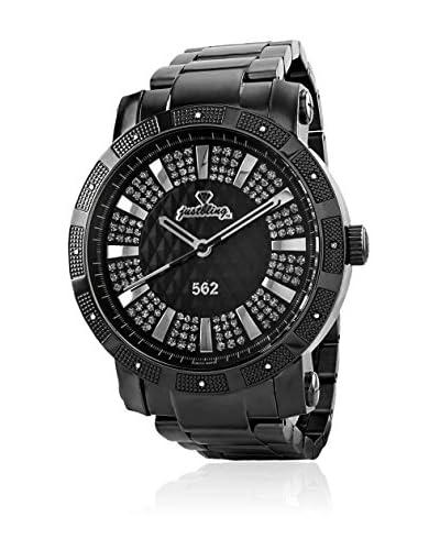 JBW Reloj con movimiento cuarzo suizo Man 562 Negro 50 mm