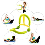 Kawachi Portable Ab Roller Crunch Multi-Purpose Home Gym Master Thigh Exercise Body Toner Fitness-I43
