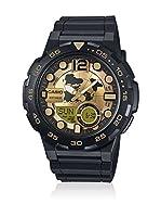 Casio Reloj con movimiento cuarzo japonés Man Aeq-100Bw-9A 45.0 mm