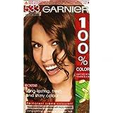 Garnier 100% Color Permanent Creme Colourant 533 Intense Golden Brown pack