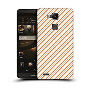 MobileGlaze Designs Parallel Lines Vertical Right Hard Back Case Cover for Huawei Ascend Mate7