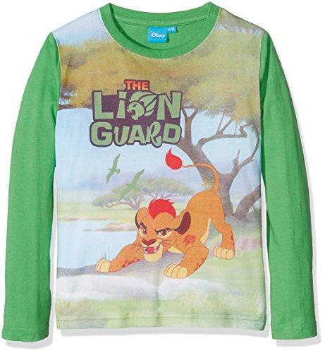 Lion Guard Lgwr46113, Felpa Bambino, Verde, 3 Anni