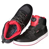 AXO '5to9' Shoes (Black/Red, Size 10)