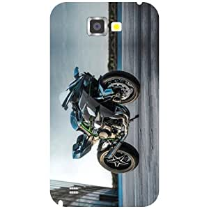 Samsung Galaxy Note 2 N7100 Back Cover - Ride My Bike Designer Cases