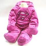 SUPERMAN スーパーマン モケット なりきり 中綿入り 暖かジャンプ スーツ