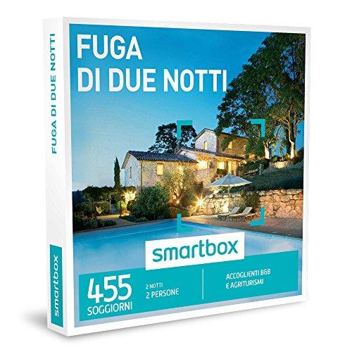 SMARTBOX - Cofanetto Regalo - FUGA DI DUE NOTTI - Accoglienti B&B e Agriturismi