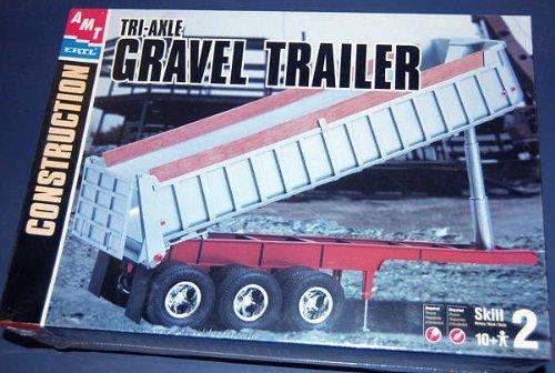 AMT Tri-Axle Gravel Trailer