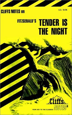 Cliffsnotes Tender Is the Night (Cliffs notes), Carol Poston