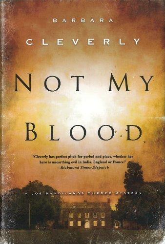Image of Not My Blood (A Detective Joe Sandilands Novel)