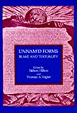 Unnamd Forms: Blake and Textuality