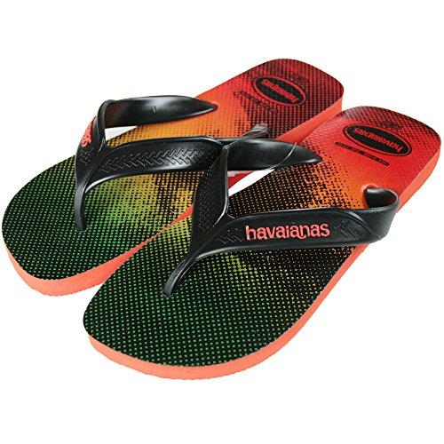 (ハワイアナス) HAVAIANAS SURF メンズ ビーチサンダル 4000047 (Pumpkin) [並行輸入品]