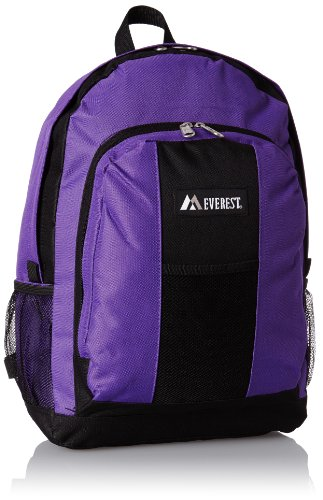 Everest Backpack with Front and Side Pockets, Dark Purple, One Size (Cheer Pack compare prices)