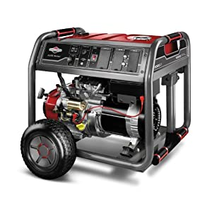 Briggs & Stratton Elite Series 30471 10,000 Watt Briggs & Stratton 2100 Series OHV Gas Powered Portable Generator With Wheel Kit