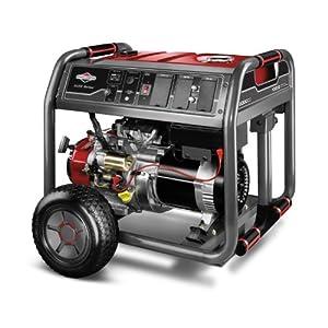 Briggs & Stratton Elite Series 30471 10,000 Watt Briggs & Stratton 2100 Series OHV Gas Powered Portable Generator With Wheel Kit