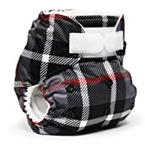 Rumparooz Cloth Pocket Diaper, Dexter Plaid Aplix