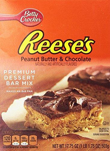 Betty Crocker Premium Dessert Bar Mix-Peanut Butter & Chocolate-17.75 oz (Dessert Bars compare prices)