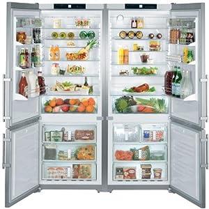 SBS32S1 Liebherr 60 Freestanding Cabinet Depth Refrigerator Freezer Combination