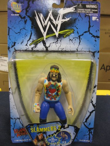Buy Low Price Jakks Pacific WWF / WWF – 1998 – Slammers 2 – Dude Love Action Figure – Jaw Breaker Action – Rare – Limited Edition – Mint – Collectible (B00271FB4A)