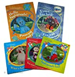 Andre Davenport In the Night Garden Story and Activity Books: 5 books : What a Funny Noise / Too Much Pinky Ponk Juice! / Igglepiggle Lost! / Hello IgglePiggle - Press out and Play Activity Book /Time for Bed! Fun with Colouring Activity book