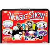 Ideal 100-Trick Spectacular Magic Show Suitcase with Instructional DVD