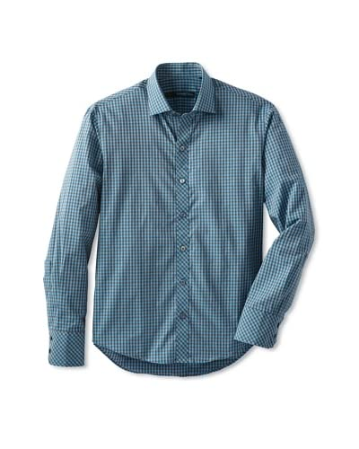 Zachary Prell Men's Enright Checked Sportshirt