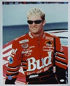 Signed Dale Earnhardt Jr. Photo - BUDWEISER 16x20 K45265 - JSA Certified -... by Sports Memorabilia