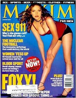 Maxim Magazine - January 2001 (#37): Laura Prepon, Sofia Vergara