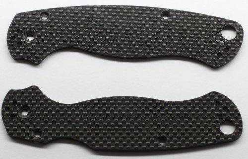 Carbon Fiber Scales for Spyderco Paramilitary 2