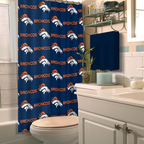 Deep Red Velvet Curtains Denver Broncos Tote Bag
