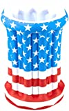 American Flag Patriotic Inflatable Cooler Costume Accessory