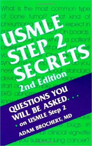 Usmle Step 2 Secrets, 2E
