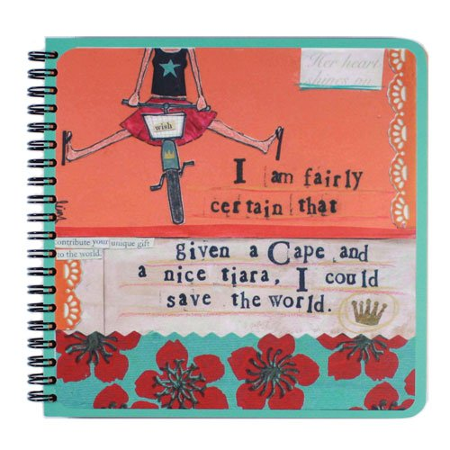 "I Am Fairly Certain - Lined Writing Journals - Notebooks - Spiral Bound - Eco Friendly 7"" X 7"""
